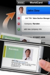 WorldCard Mobile Lite - business card reader & business card scanner screenshot 1/1