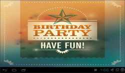 Cute Happy Birthday HD Wallpaper screenshot 3/6
