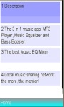 Equalizer music player /booster screenshot 1/1