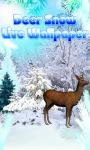 Deer Snow Live Wallpaper screenshot 1/4