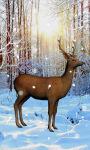 Deer Snow Live Wallpaper screenshot 2/4