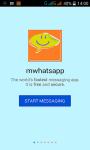 mwhatsapp screenshot 1/4