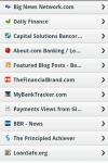 Banking News App screenshot 2/3