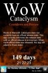 Countdown for Cataclysm (Unofficial) screenshot 1/1