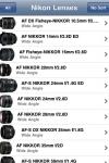 Nikon Lenses screenshot 1/1