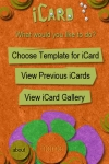 iCard for iPhone - Design, share, and print cards! screenshot 1/1