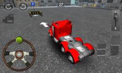 Truck Parking 3D FREE screenshot 1/5