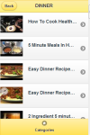 Five Minute Recipes screenshot 3/4