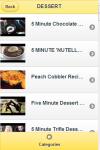 Five Minute Recipes screenshot 4/4