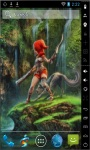 Elf And Wolf Live Wallpaper screenshot 2/2