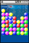 Bubbles Game screenshot 2/5