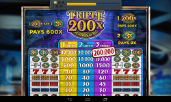 Triple 200x Pay Slots - Casino Slot Machine screenshot 3/3
