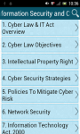 Information Security and Cyber Law screenshot 1/3