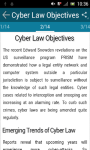 Information Security and Cyber Law screenshot 2/3
