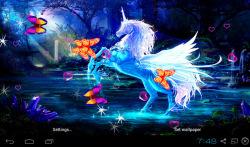 3D Unicorn Live Wallpapers screenshot 1/5