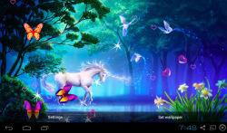 3D Unicorn Live Wallpapers screenshot 2/5