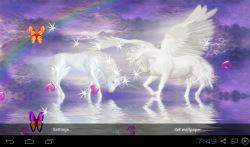 3D Unicorn Live Wallpapers screenshot 4/5