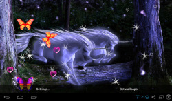 3D Unicorn Live Wallpapers screenshot 5/5