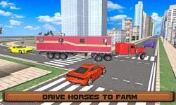 Horse Stunts Transporter Truck screenshot 2/3