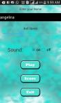 Pic of Baunce ball  unity screenshot 2/4