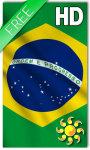 Brazil Flag LWP HD screenshot 1/2