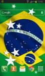 Brazil Flag LWP HD screenshot 2/2