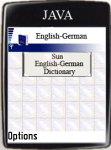 Sun English-German Dictionary screenshot 1/1