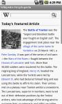 Wiki Encyclopedia Lite screenshot 2/6