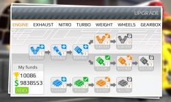 Drag Racing:Bike Edition screenshot 4/6