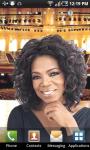 Oprah Winfrey Live Wallpaper screenshot 2/3