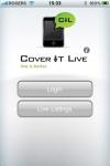 CoveritLive iPhone screenshot 1/1