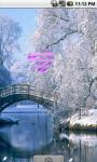 Lovely Winter Live Wallpaper screenshot 2/4