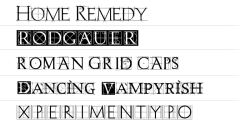 ★ Grid for FlipFont® free screenshot 1/1