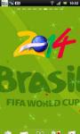 World Cup 2014 Live Wallpaper 4 screenshot 1/3