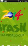 World Cup 2014 Live Wallpaper 4 screenshot 2/3