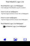 Real Madrid Logo Live Wallpaper screenshot 2/6