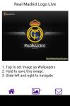 Real Madrid Logo Live Wallpaper screenshot 3/6