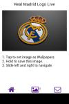 Real Madrid Logo Live Wallpaper screenshot 4/6