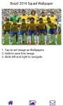 Brazil 2014 Squad Wallpaper screenshot 3/3