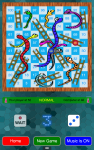 Snakes and Ladders Board Game screenshot 1/5