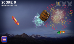 Fireworks Finger Fun Free screenshot 2/3
