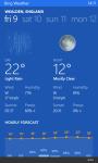 WeatherBing screenshot 2/3