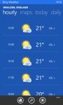 WeatherBing screenshot 3/3