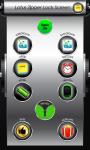 Lotus Zipper Lock Screen screenshot 2/6
