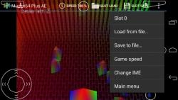 Mupen64Plus AE N64 Emulator customary screenshot 5/6