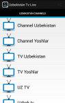 Uzbekistan Tv Live screenshot 1/3