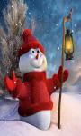 Snowman Live Wallpaper Free screenshot 2/4