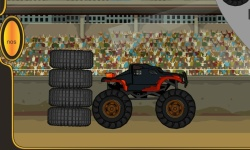Monster Truck Race screenshot 1/2