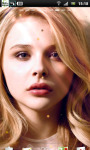 Chloe Moretz Live Wallpaper 2 screenshot 1/3