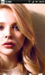 Chloe Moretz Live Wallpaper 2 screenshot 2/3